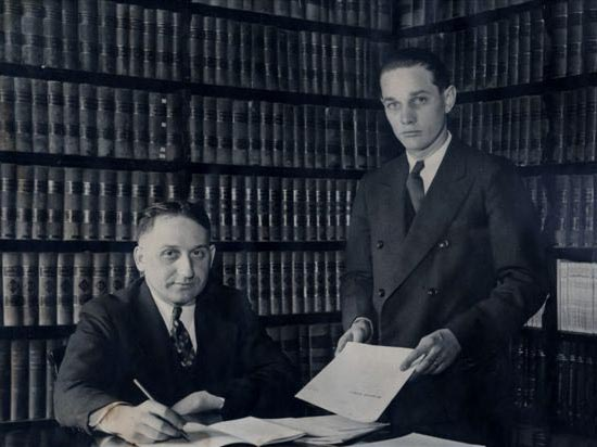William H. Coon and Harry K Angell